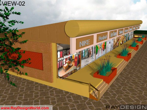 Best Commercial Complex Design in 7758 square feet - 01