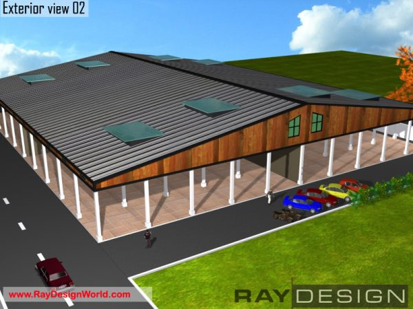 Best Industrial Design in 50160 square feet - 01