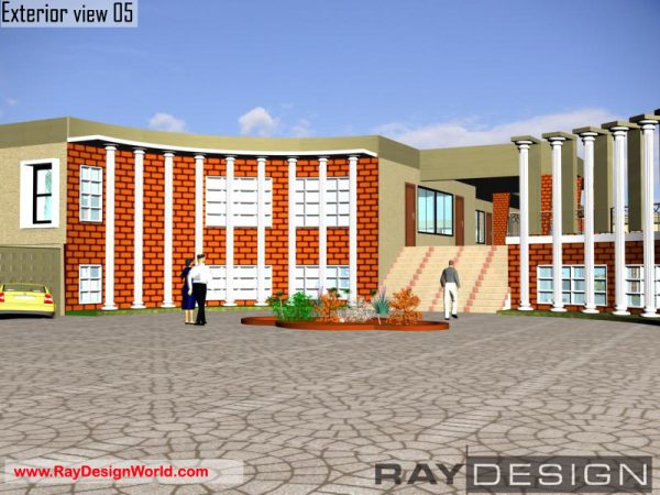 Best School Design in 81600 square feet- 02