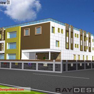 Best Hospital Design in 128231 square feet - 19