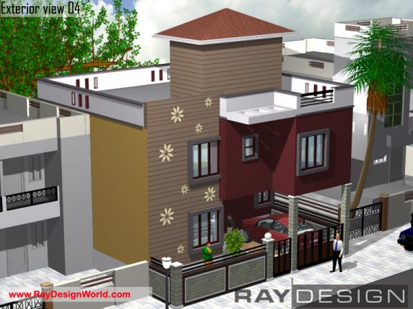 Best Residential Design in 1219 square feet - 09