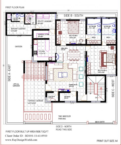 Best Residential Design in 3364 square feet - 06