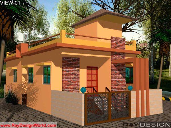 Best Residential Design in 1000 square feet - 21
