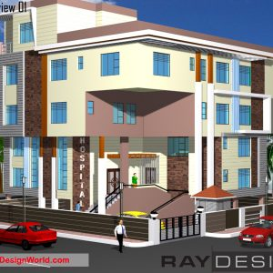 Best Hospital Design in 3840 square feet - 11