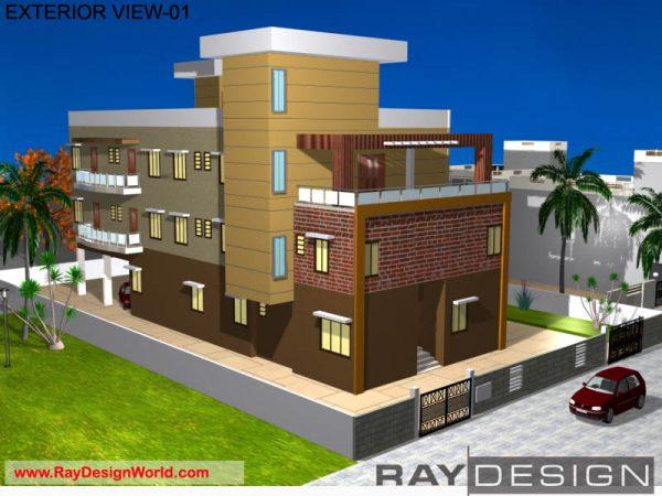 Best Hospital Design in 8553 square feet - 20