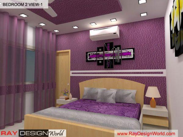 Dr. Richard Ohri - Jalandhar Punjab - Bedroom Interior Design