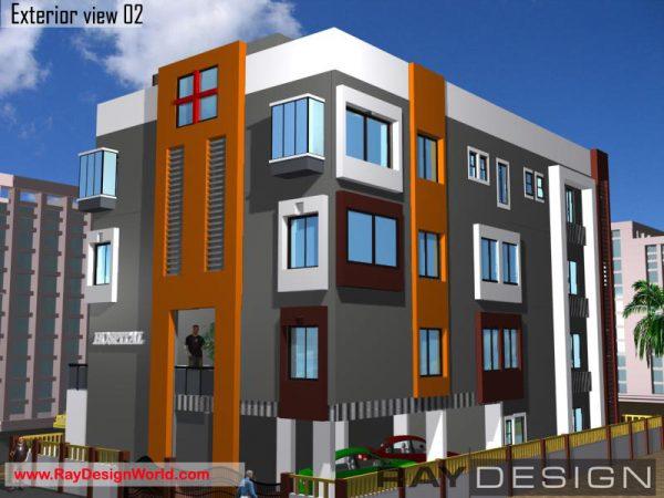 Best Hospital Design in 3600 square feet - 05
