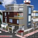 Best Hospital Design in 5600 square feet - 13