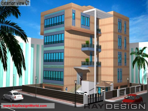 Best Hospital Design in 4313 square feet - 14