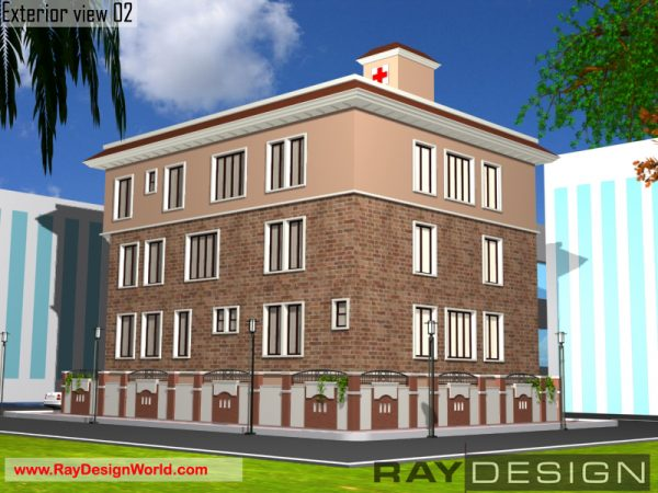 Best Hospital Design in 2444 square feet - 06