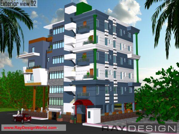 Best Hospital Design in 3788 square feet - 12