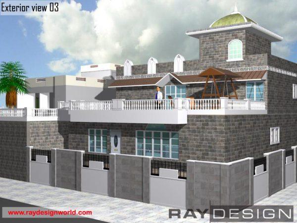 Best Residential Design in 5415 square feet - 25