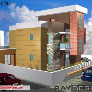 Best Residential Design in 3228 square feet - 28