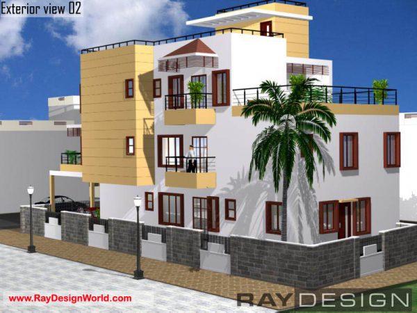 Best Residential Design in 2360 square feet - 73