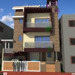 Best Residential Design in 906 square feet - 24