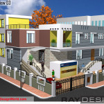 Best Hospital Design in 9775 square feet - 17