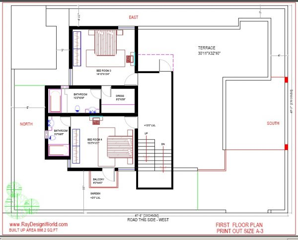 Best Residential Design in 3228 square feet - 28
