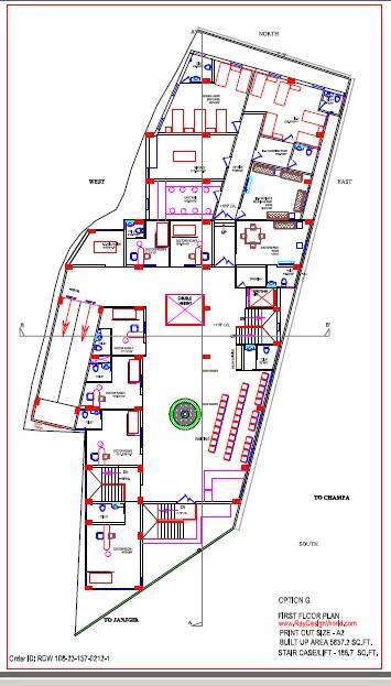 Best Hospital Design in 83092 square feet - 21
