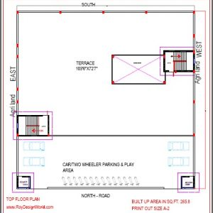 Best School Design in 11025 square feet- 03