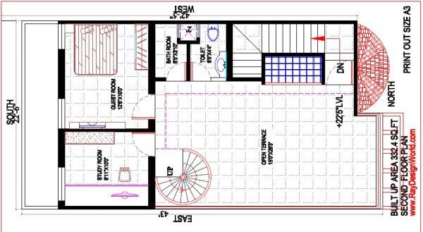 Best Residential Design in 900 square feet - 16