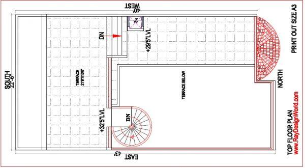 Best Residential Design in 900 square feet - 16Haryana- bungalow design