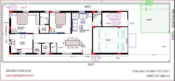 Best Residential Design in 2550 square feet - 17