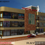 Best Commercial Complex Design in 21497 square feet - 02
