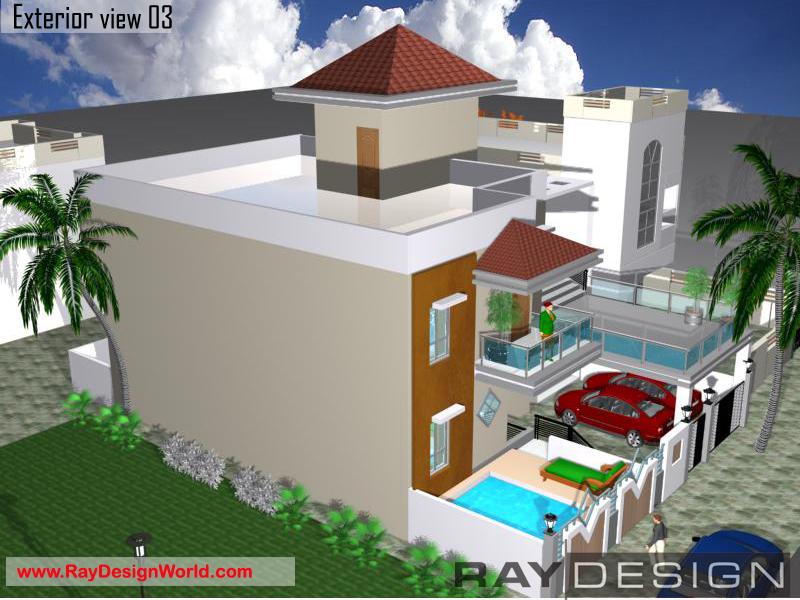 Best Residential Design in 2448 square feet - 44