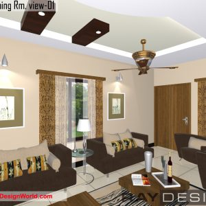 Best Interior Design - House in 300 square feet - 02