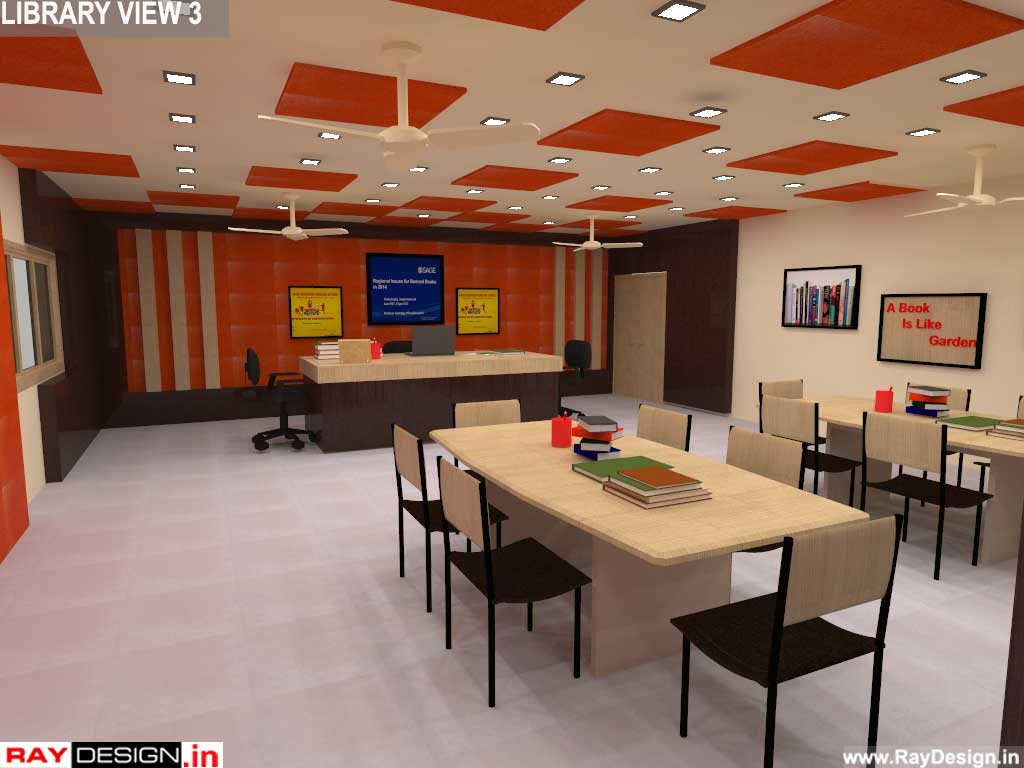 Mr.Debajit Dutta - Jorhat, Assam - School Project - 3D interior views