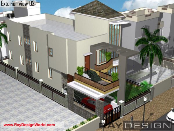 Best Residential Design in 2340 square feet - 31