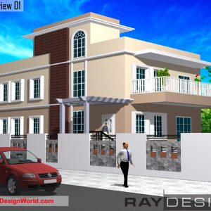 Best Residential Design in 3463 square feet - 34