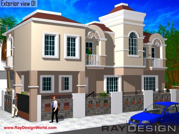 Best Residential Design in 1250 square feet - 45