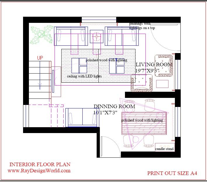 Best Interior Design House In 300 Square Feet 02