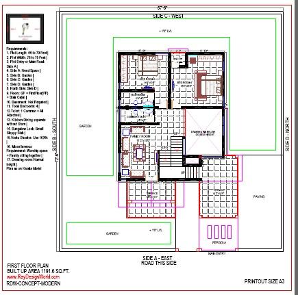 Best Residential Design in 4894 square feet - 36