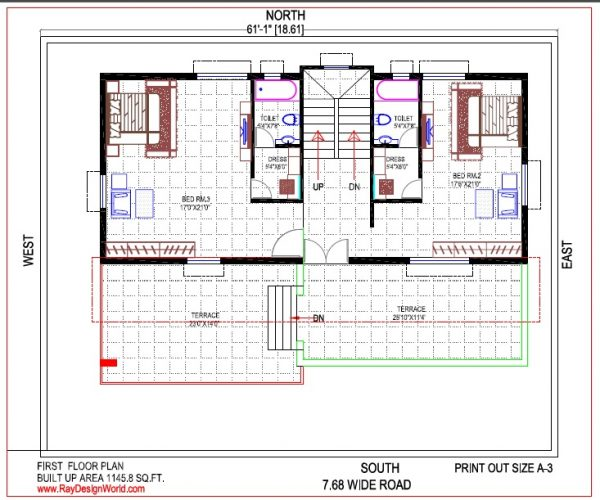 Best Residential Design in 3111 square feet - 42