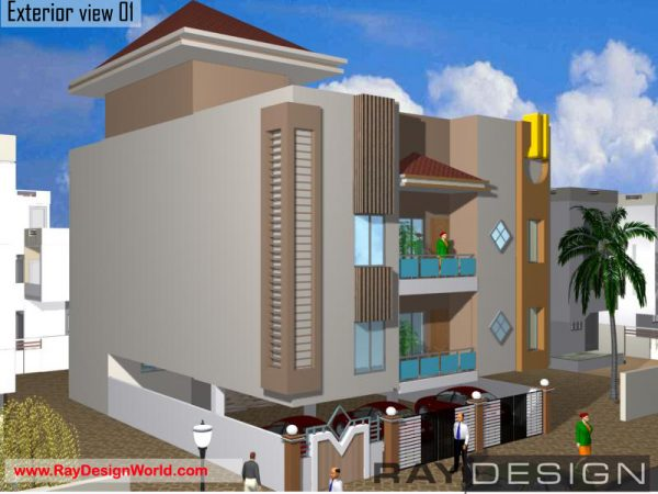 Best Residential Design in 2046 square feet - 53