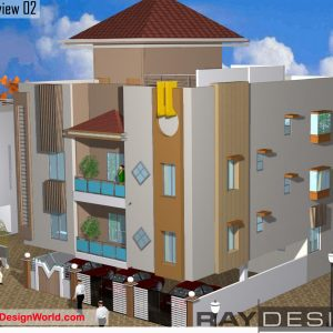 Best Residential Design in 2046 square feet - 53
