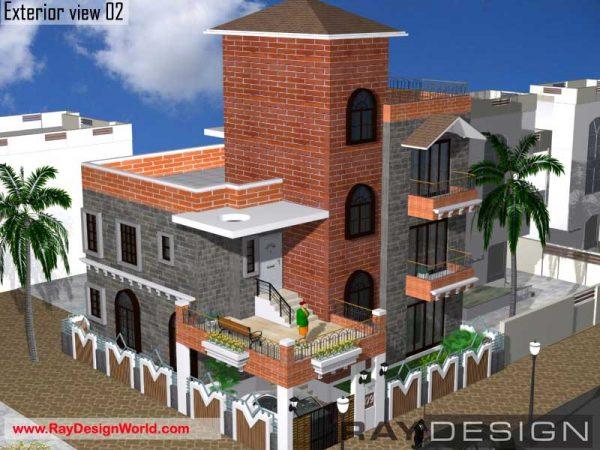 Best Residential Design in 1710 square feet - 58