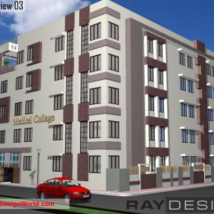 Best College Design in 7231 square feet - 01