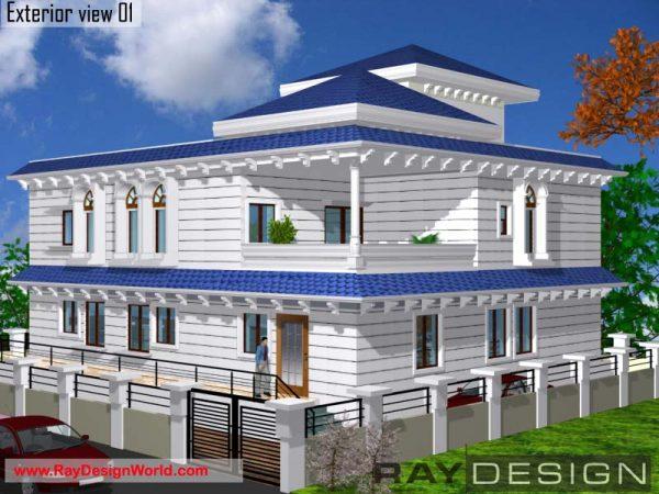 Best Residential Design in 3840 square feet - 52