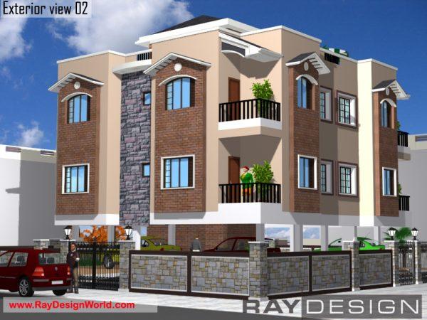 Best Residential Design in 2981 square feet - 56