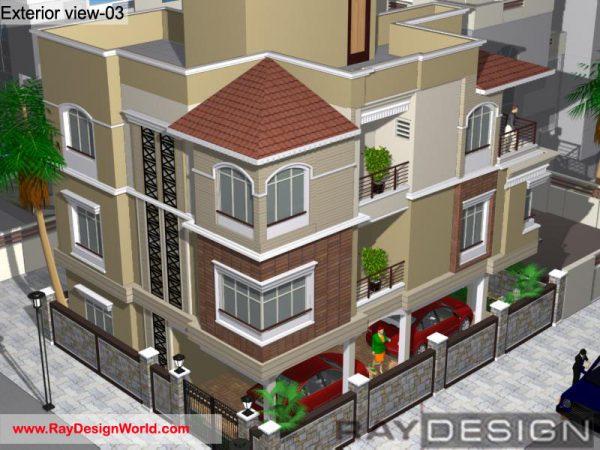Best Residential Design in 1452 square feet - 55