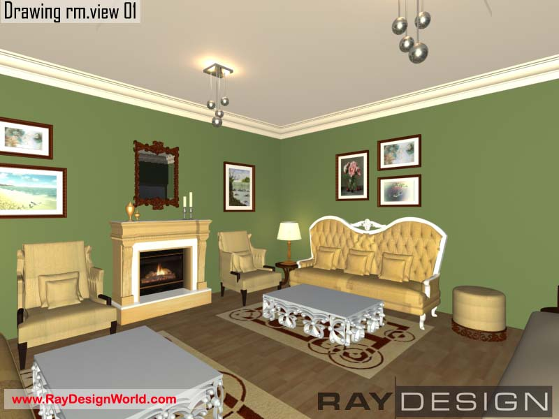Miss Manjoo Sardana - Phagwara Panjab - Drawing Room Interior Design