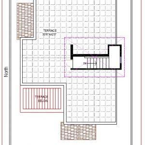 Best Residential Design in 2400 square feet - 51