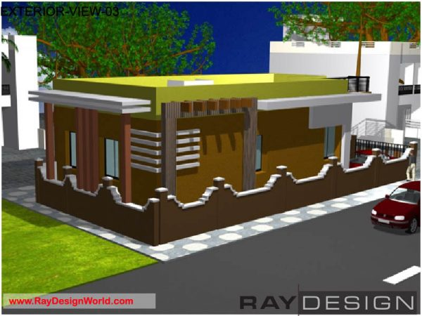 Best Residential Design in 1363 square feet - 48
