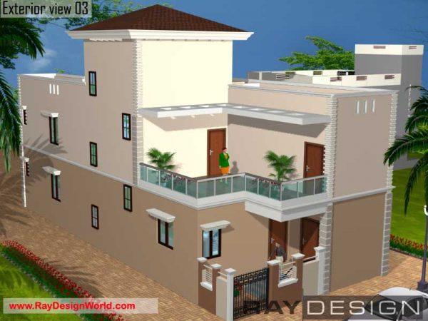 Best Residential Design in 1820 square feet - 63