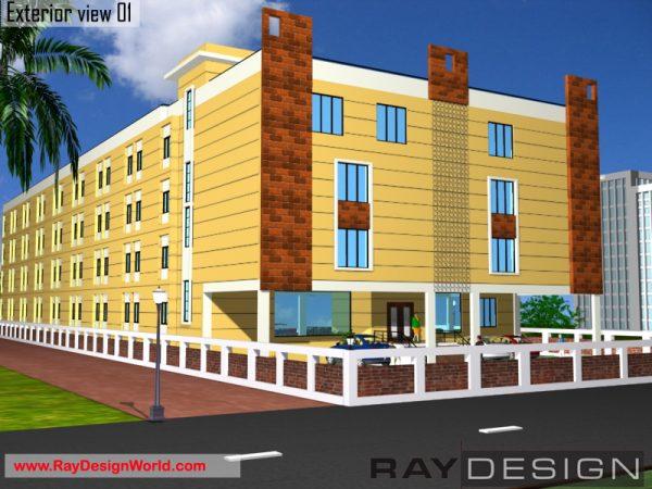 Best School Design in 20000 square feet - 05