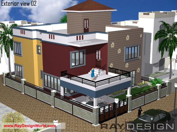 Best Residential Design in 2320 square feet - 62