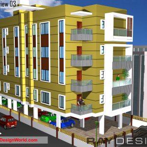 Best Residential Design in 4107 square feet - 65